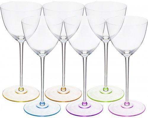 Набор бокалов для вина 260 мл Арлекино Suzanne Богемия Кристал (Bohemia Crystal) (6 шт)