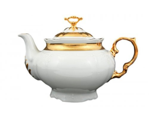 Чайник 1,2 л Тхун (Thun) Мария Луиза Золотая лента
