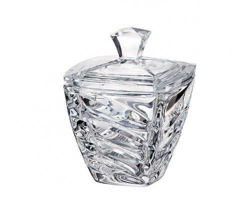 Конфетница с крышкой 14 см Facet Crystalite Bohemia