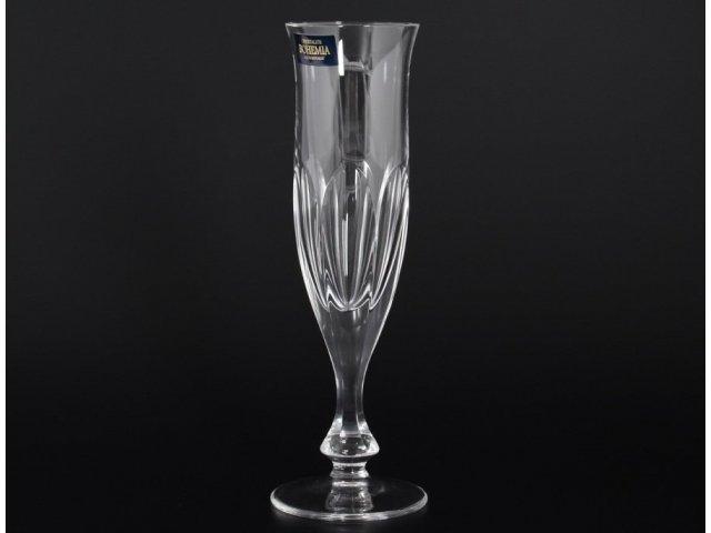 Набор фужеров для шампанского 200 мл Monaco Crystalite Bohemia (6 шт)