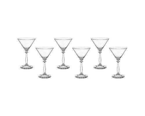 Анжела набор бокалов для мартини 285 мл (6 шт)