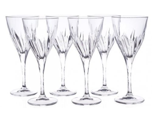 Набор бокалов для вина 260 мл Fluente Cristalleria Italiana