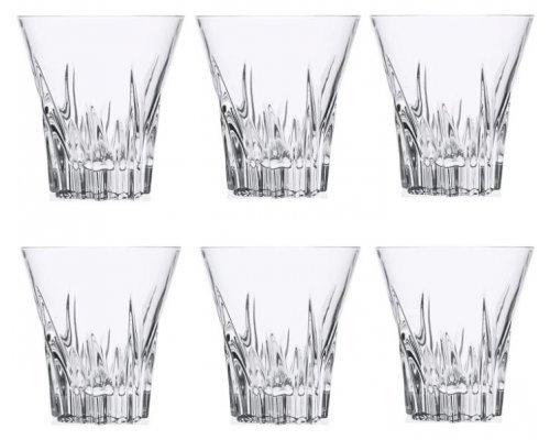 Набор стаканов для виски 310 мл Fluente Cristalleria Italiana