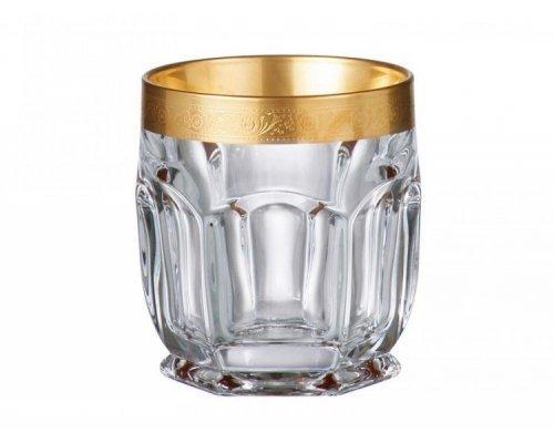 Набор стаканов для виски 250 мл BOHEMIA Сафари GOLD
