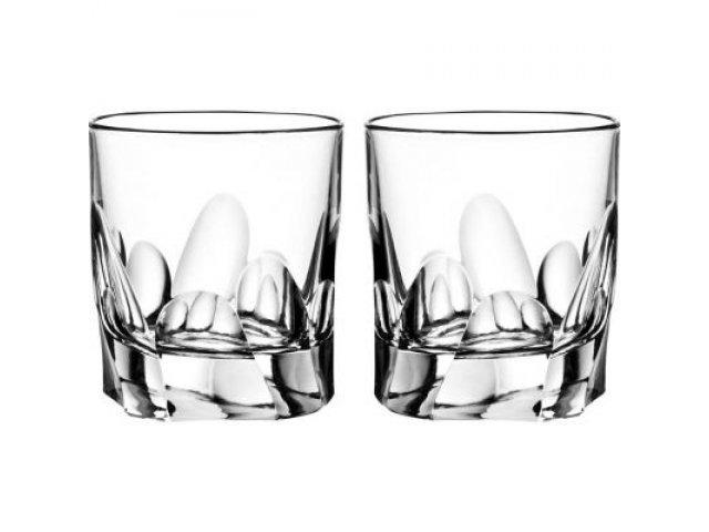 Набор стаканов для виски Lithos RCR Cristalleria Italiana 240 мл 6 штук