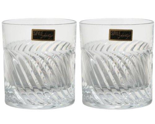 Набор стаканов для виски 290 мл GEARING RCR Cristalleria Italiana ( 2 шт )
