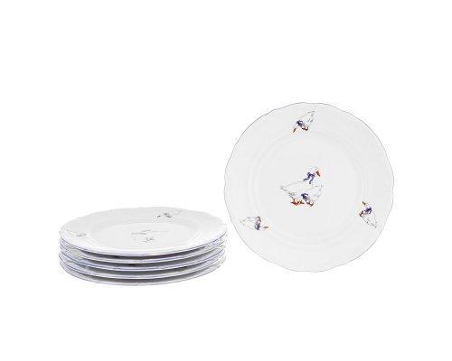 Набор плоских тарелок Гуси Repast 21 см
