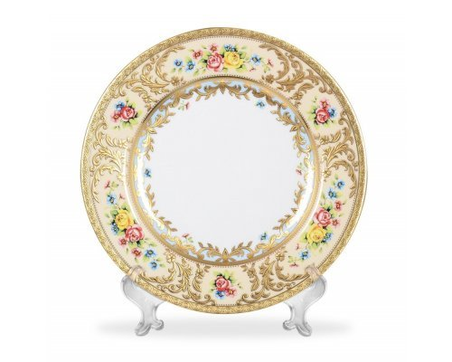 Набор тарелок 26,5 см (6 шт) Vienna creme gold Falkenporzellan (Фалкенпоцеллан)