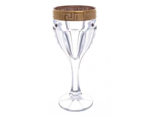 Набор бокалов для вина 190 мл Сафари Костка Богемия Кристал (Bohemia Crystal) (6 шт)