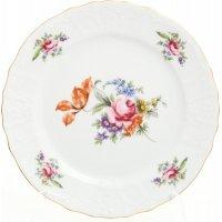 Набор тарелок 25 см Бернадотт Полевой цветок (6 шт)