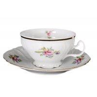 Набор чайных пар 220 мл Бернадотт Полевой цветок (6 пар)