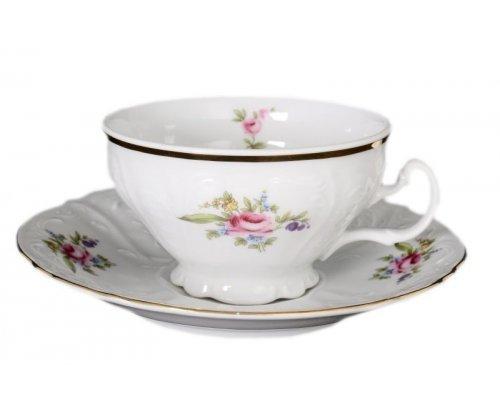 Набор чайных пар Полевой цветок Bernadotte 220 мл (6 пар)