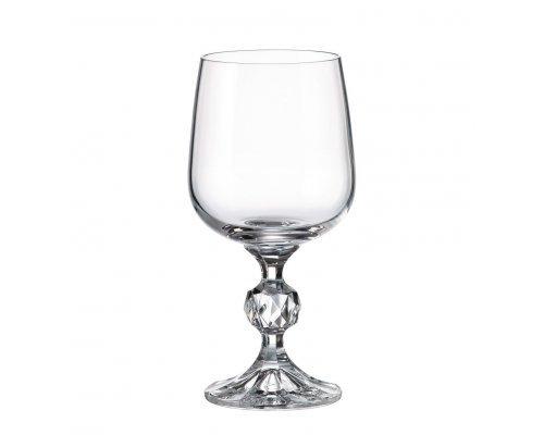 Набор бокалов для вина 230 мл Клаудия Crystalite Bohemia (6 шт)