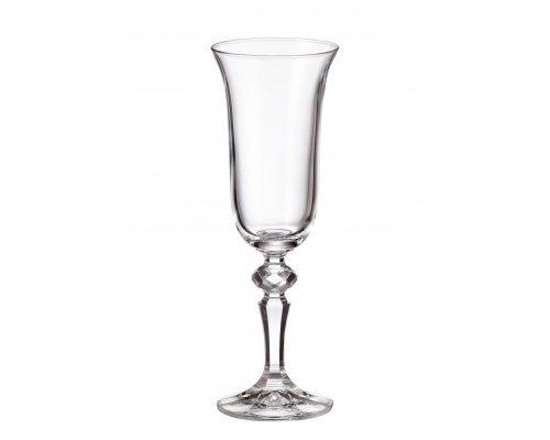 Набор фужеров для шампанского 150 мл Laura Crystalite Bohemia (6 шт)