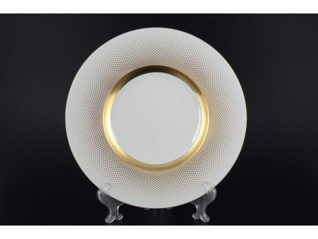 Набор тарелок 27 см Falkenporzellan Rio white gold (6 шт)