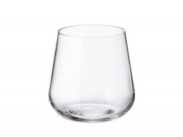 Набор стаканов для воды 320 мл Amundsen Crystalite Bohemia (6 шт)