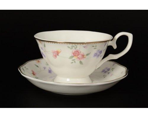 Набор чайных пар на 6 персон 12 предметов Алиса Royal
