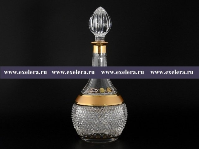 Графин Max Crystal Золото Bohemia (Богемия)