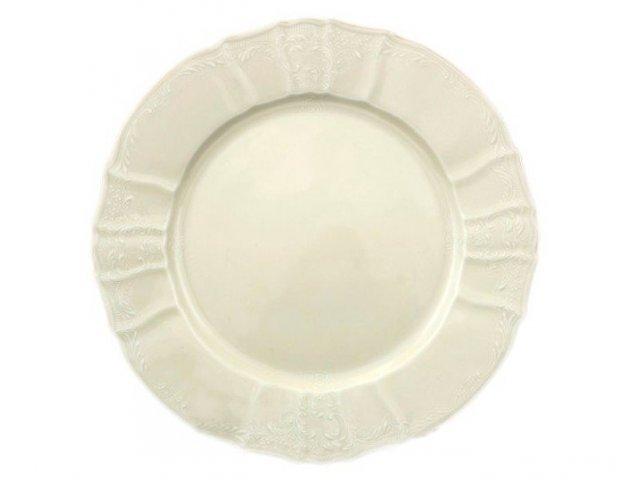Набор тарелок 17 см Бернадотт Белый узор BE-IVORY (6 шт)