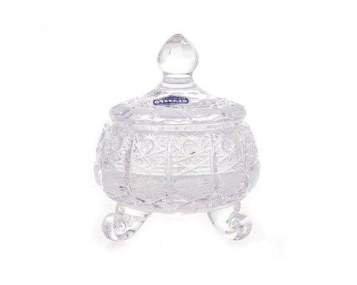 Конфетница доза 10 см Glasspo Bohemia (Богемия)
