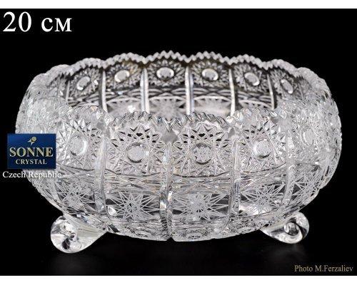 Ваза для конфет тройножка 20 мл Sonne Crystal