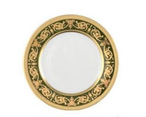 Набор тарелок 17 см Falkenporzellan Imperial Green Gold (6 шт)