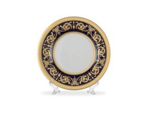 Набор тарелок 17 см Falkenporzellan Imperial Cobalt Gold (6 шт)