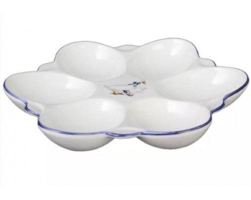 Поднос для яиц 15 см Гуси Корона Queens Crown