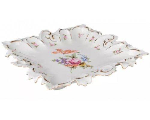 Блюдо фигурное квадратное 41 см Полевой цветок Корона Queens Crown