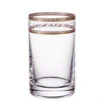 Набор стаканов для воды 150 мл Золотой лист V-D (6 шт)
