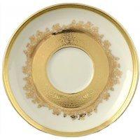 Набор блюдец Falkenporzellan Cream Gold 9320 (6 шт)