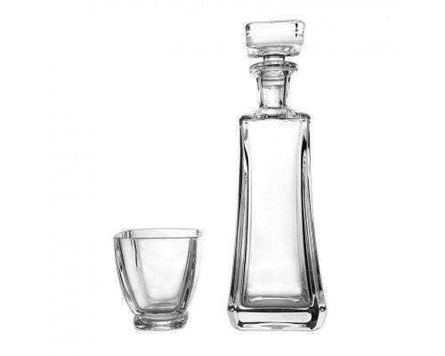 Набор для виски 7 предметов Arezzo Богемия Кристал (Bohemia Crystal)