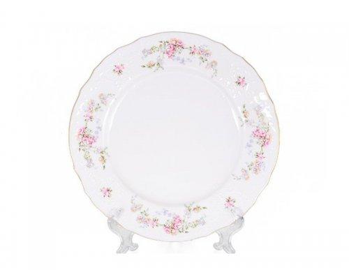 Набор тарелок 17 см Бернадотт Дикая роза золото (6 шт)