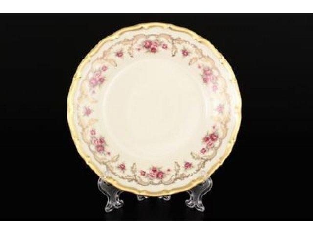 Набор тарелок 17 см Анжелика Офелия Амадеус Старорольский Фарфор (MZ) (6 шт)