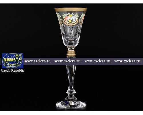 Набор рюмок для водки 50 мл Виктория Богемия Кристал (Bohemia Crystal) (6 шт)