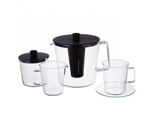 Чайный сервиз 11 предметов Симакс (Simax) жаропрочная