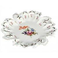 Блюдо фигурное круглое 35см Полевой цветок Корона Queens Crown