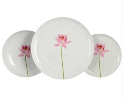 Набор тарелок 18 предметов Тхун (Thun) Том Лотос