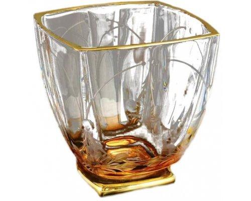 Набор стаканов для виски 320 мл Arezzo Богемия Кристал (Bohemia Crystal)