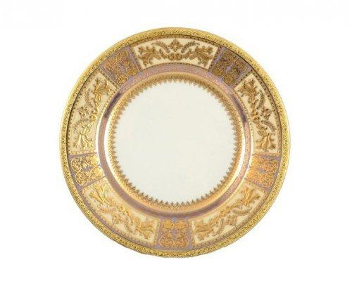 Набор тарелок 17 см Falkenporzellan Diadem Violet Creme Gold (6 шт)