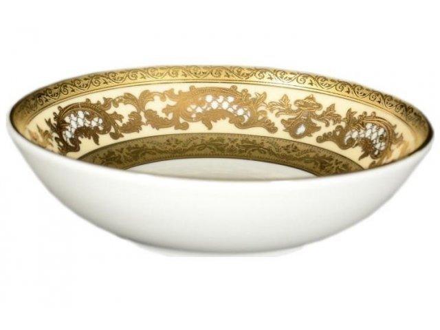 Набор розеток 10 см Falkenporzellan Alena 3D Creme Gold Constanza(6 шт)