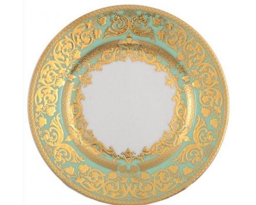 Набор тарелок 17 см Natalia seladon gold (6 шт)