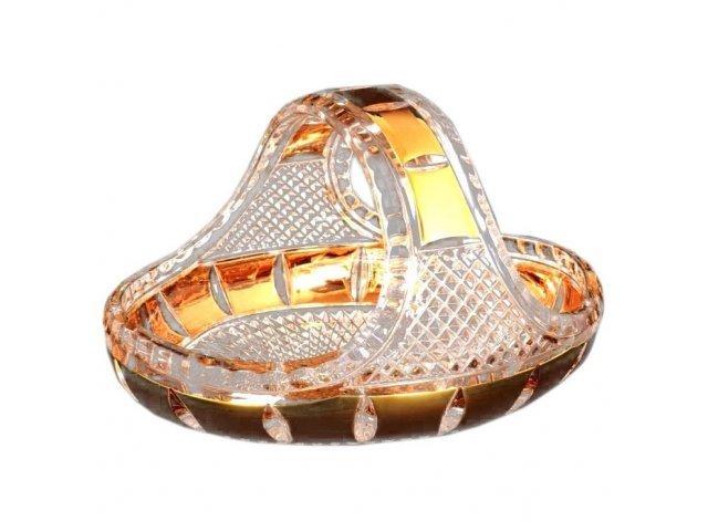 Корзина 23 см Crystal heart Bohemia (Богемия)