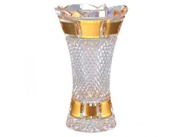 Ваза 20 см Crystal heart Bohemia (Богемия)