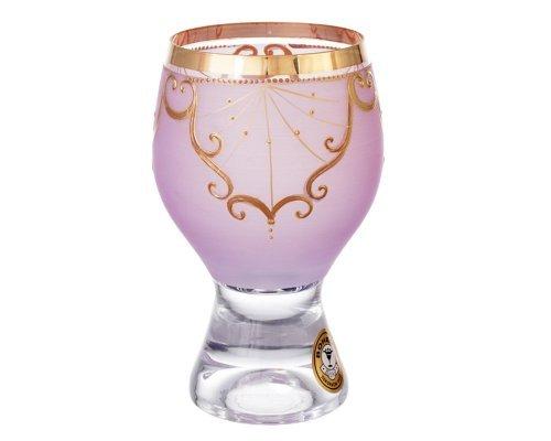 Конфетница Bohemia розовая