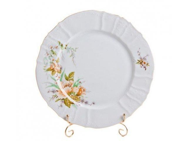 Набор тарелок 19 см Бернадотт Зеленый цветок (6 шт)