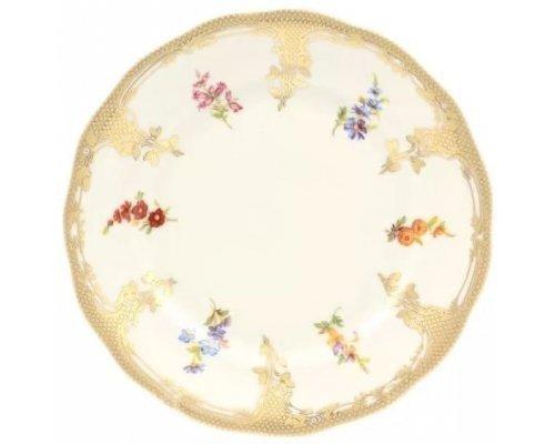 Набор тарелок 19 см Carlsbad Аляска Мелкие цветы Слоновая кость