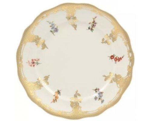 Набор тарелок Carlsbad Аляска Мелкие цветы Слоновая кость 25 см