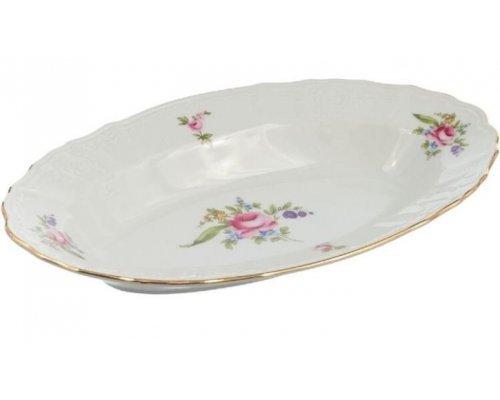Блюдо овальное 24 см Бернадотт Полевой цветок