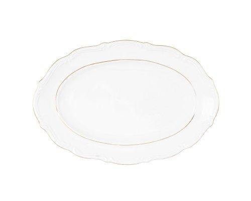 Блюдо овальное плоское Repast Классика 33 см